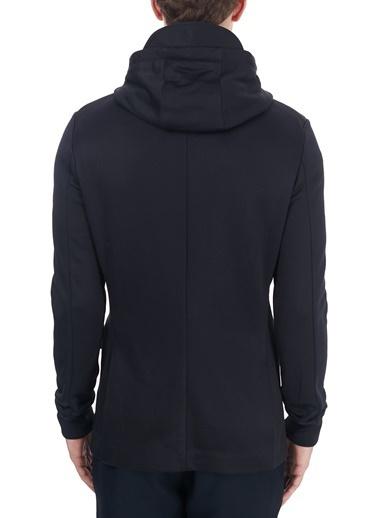 Armani Exchange  Çıkarılabilir Kapüşonlu Iç Katmanlı Ceket Erkek Ceket 6Hzgla Zjlbz 1583 Lacivert